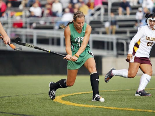 As a freshman last season for the York College field hockey team, Red Lion graduate Ali Posey was named CAC Rookie of the Year after leading the Spartans in points (28) and goals (12).
