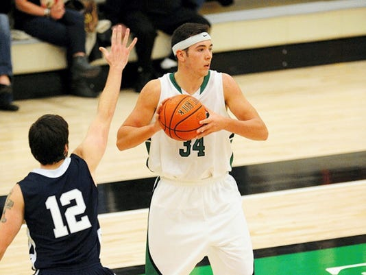 Dalton Myers is York College's leading returning scorer. He averaged 13.5 points per game a season ago.