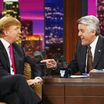 Trump birthed campaign on Leno and Letterman