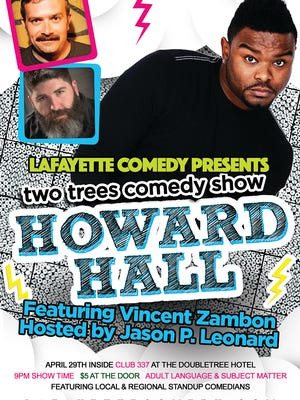 Howard Hall comes to Lafayette this month