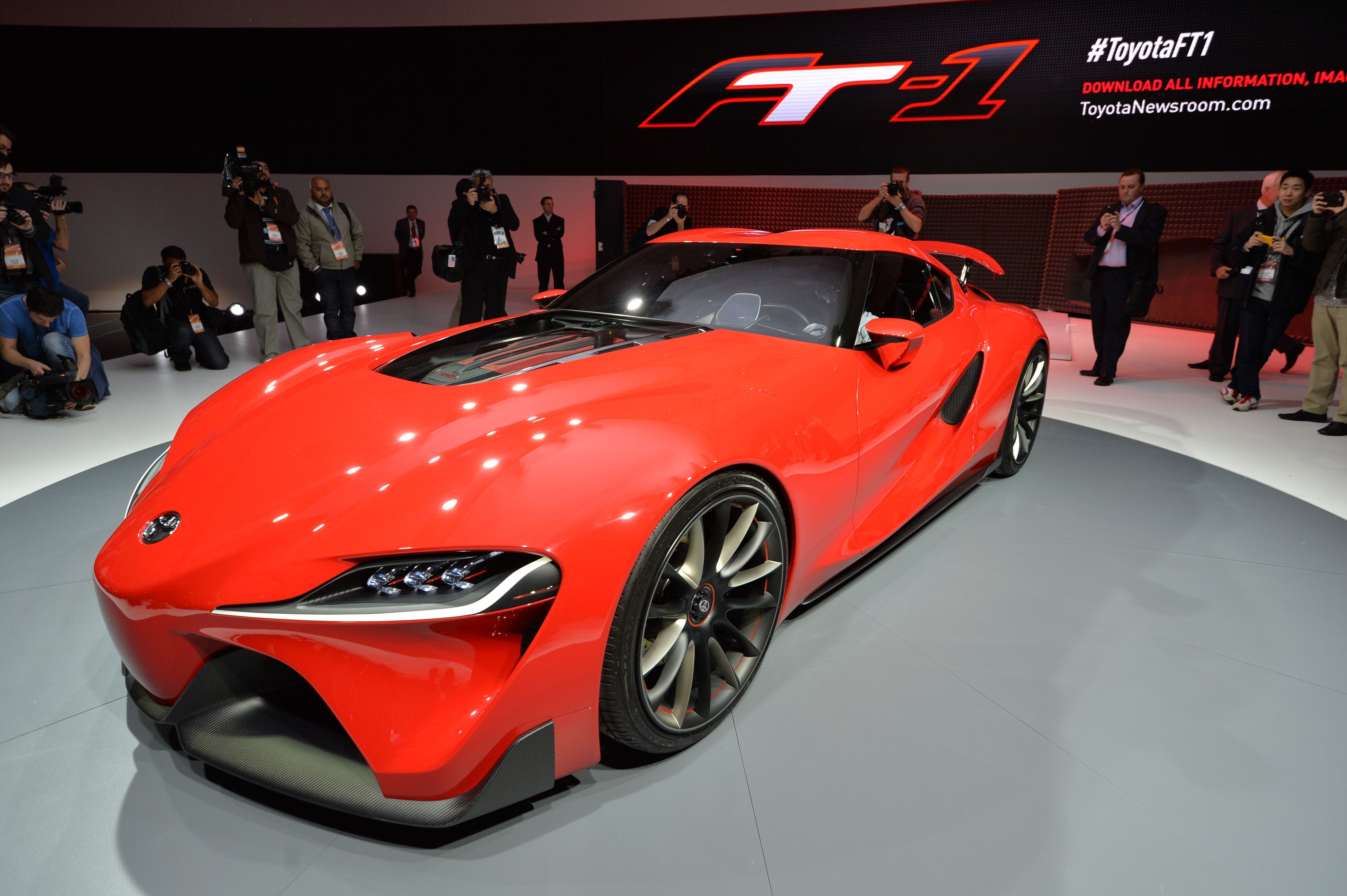 The Toyota ft 1 Concept