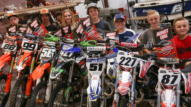 Six local southern Utah riders and one alternate will head to Hurricane Mills, Tennessee next month to compete in the AMA National Motocross Championship at Loretta Lynn's.