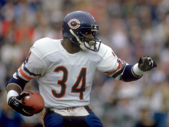 Walter Payton is one of the greatest players ever, and is from Mississippi.