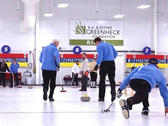 The sport of curling has grown in Wisconsin, especially
