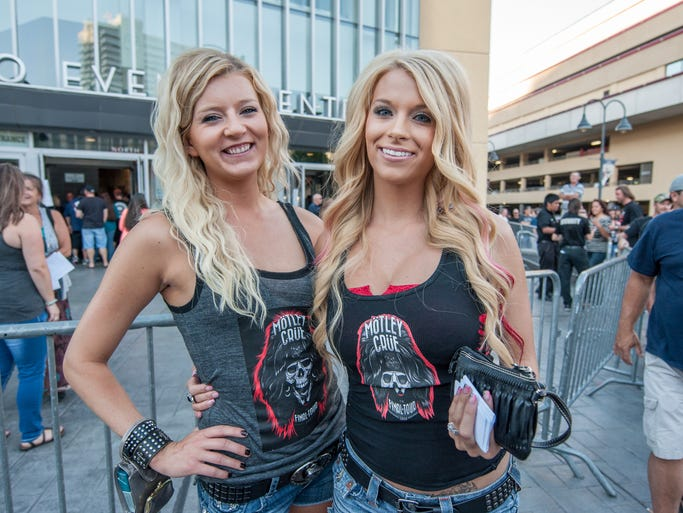 Fans turn out to watch Alice Cooper and Motley Crue perform on July 25th at the Reno Event Center.