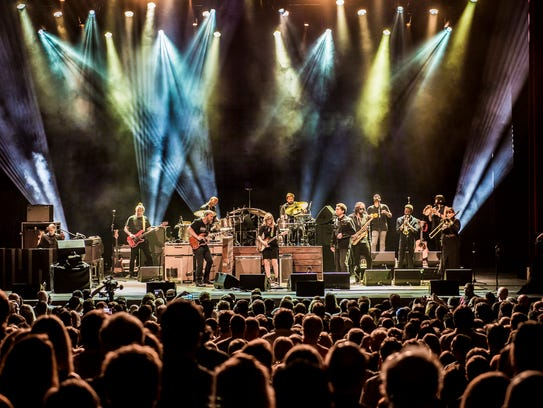 The 12-piece Tedeschi Trucks Band is scheduled to play