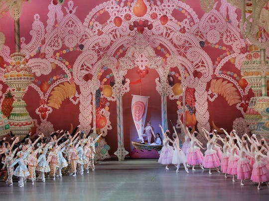 """""""George Balanchine's The Nutcracker"""" will play Nov. 24 to Dec. 31 at New York City Ballet at Lincoln Center."""