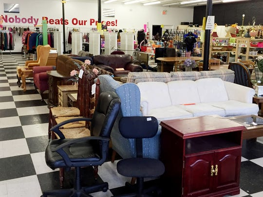 The Treasure Hunters thrift shop benefits the Goodlettsville Help Center.