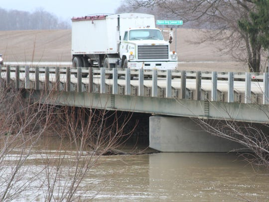 Rain, melting snow and clogged drains have raised flooding concerns across Marion County.