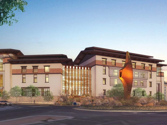 An artist's rendering of the new Interdisciplinary Research Building that will be built on the University of Texas at El Paso campus.
