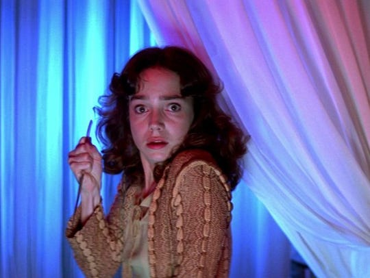 Jessica Harper plays a student who finds danger in