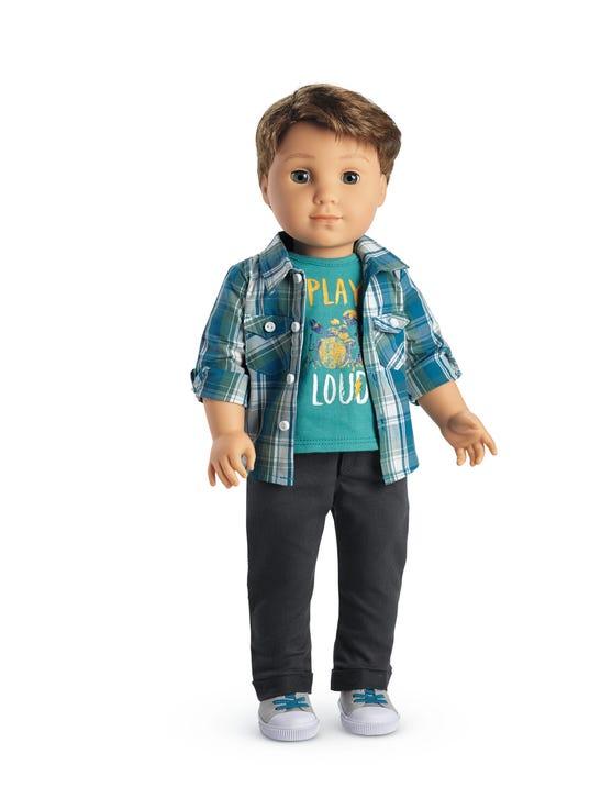 Meet Logan American Girl S First Boy Doll