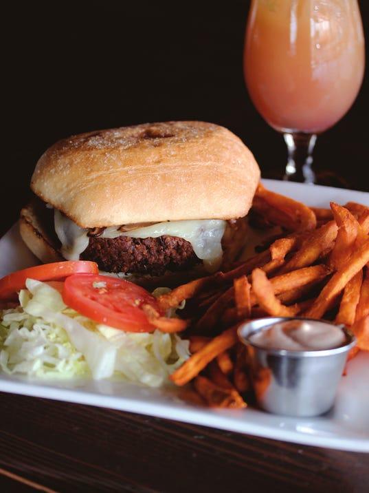 Best Black Bean Burger Restaurant