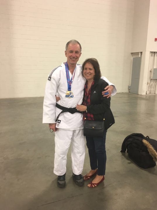 Physician wins National Judo Championship with help of RWJUH Performance Fitness PHOTO CAPTION