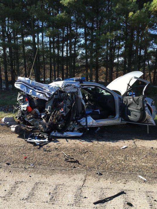Ohio State Highway Patrol Autos Post