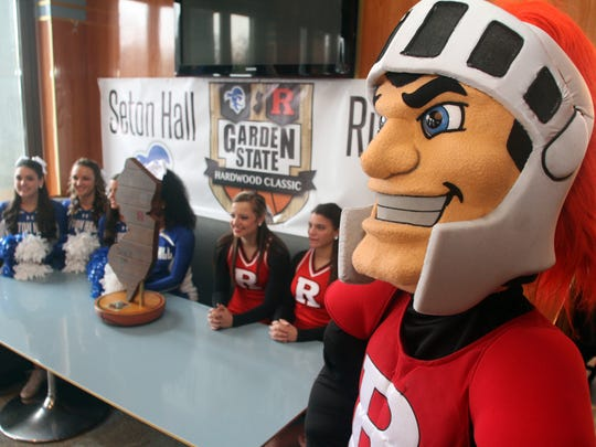 The Scarlet Knight watches over the reveal of the new