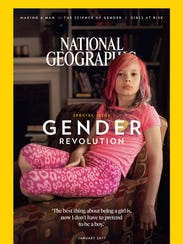 National Geographic magazine focused entirely on gender