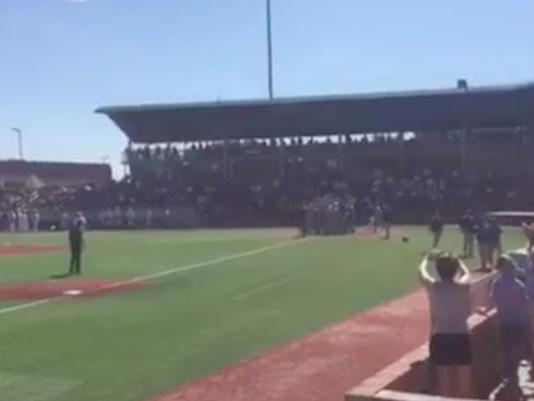 LCC baseball walk-off