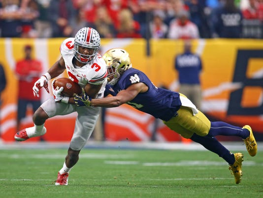 NCAA Football: Fiesta Bowl-Notre Dame vs Ohio State