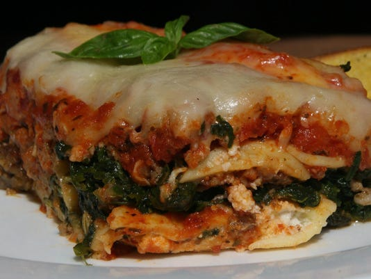 Test Kitchen recipe: Lasagna recipe is made easy with frozen cheese ravioli