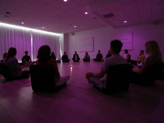 As meditation goes mainstream, many find thereís no place like om