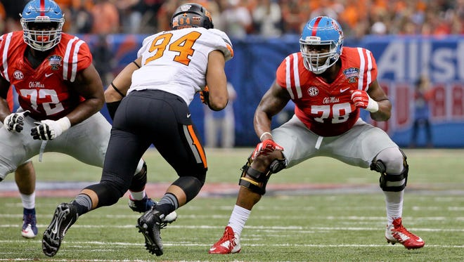 Ole Miss tackle Laremy Tunsil said he will be able to make the transition from primarily pass-blocking in college to a more balanced approach in the NFL.