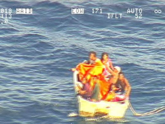 7 rescued on rafter after ferry sinking