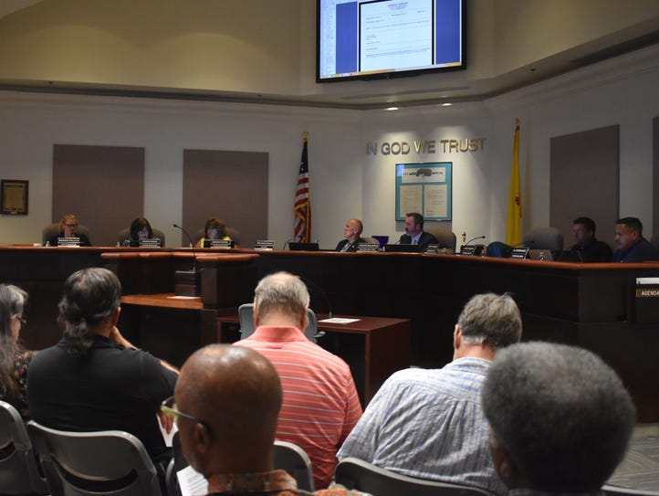 The Alamogordo City Commission met Tuesday evening