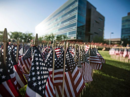 University of Phoenix salutes service members, vets with Memorial Day flag ceremony