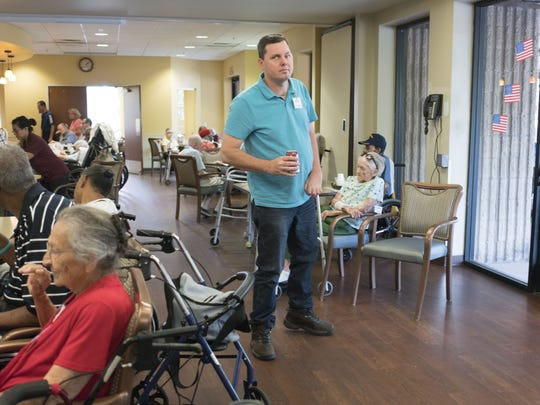 "Aaron Cox found a special place at the Foundation for Senior Living's Phoenix Adult Day Health Services program. ""I got to talk to people, interact with people, socialize and go on different trips. I made friends there,"" he says."