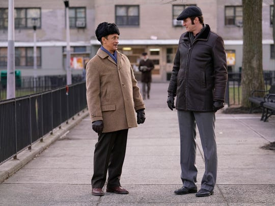 Oleg (Costa Ronin), right, is working with partner Ruslan (Ravil Isyanov) in the Soviet Union in Season 5 of FX's 'The Americans.'