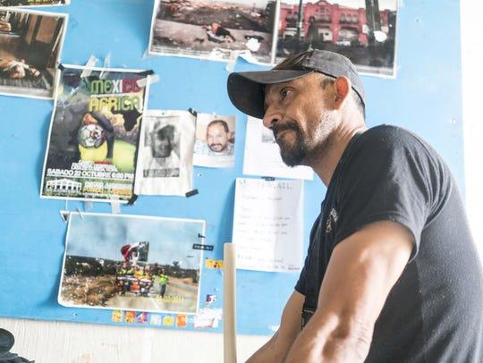 Benjamin Campista works at Angeles Sin Fronteras, a