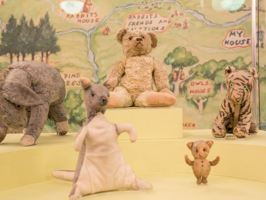 Winnie-the-Pooh, Eeyore, Kanga, Piglet and Tigger all live at the New York Public Library.