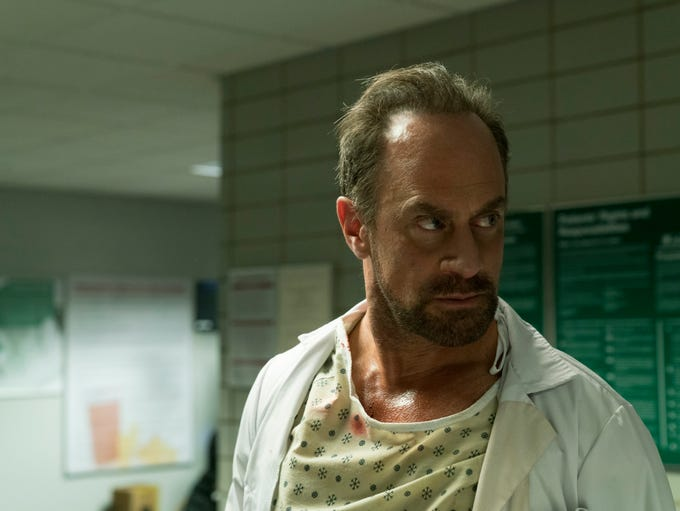 Christopher Meloni plays Nick Sax in the Syfy show