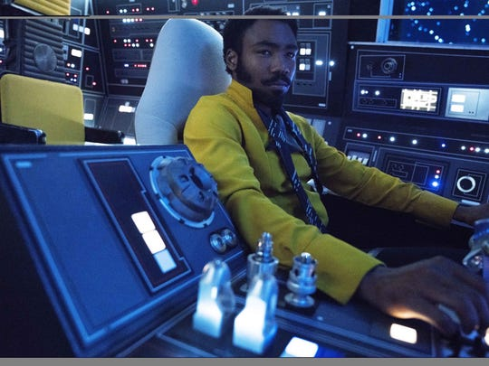 "Donald Glover stars in  ""Solo: A Star Wars Story."""
