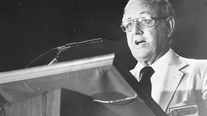 Former state Rep. Jack Connell, born 101 years ago today.