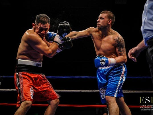 Boxing Steve Bujaj Yonkers 2014