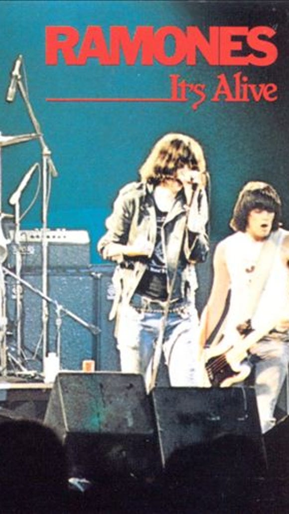 Rock and Walk: 'It's Alive' by the Ramones