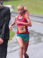 15-year-old Logann Haluszka takes first place in the