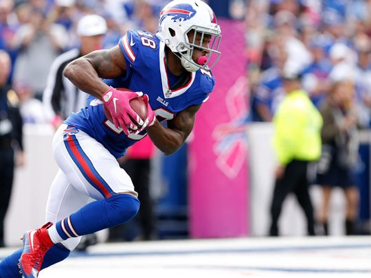 Percy Harvin rejoined the Bills and is expected to play against the Seahawks.