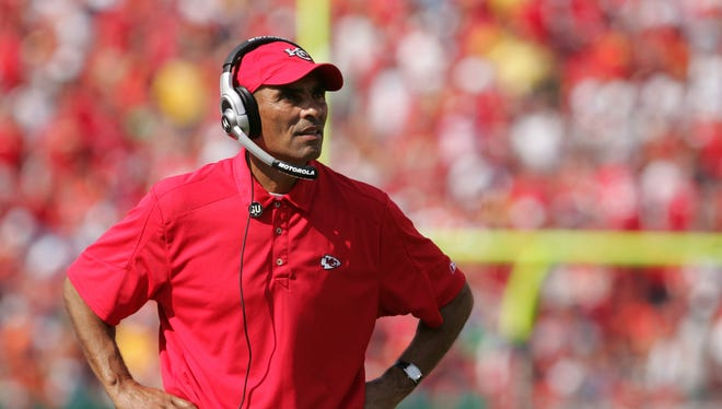 Herm Edwards is ASU's new football coach.
