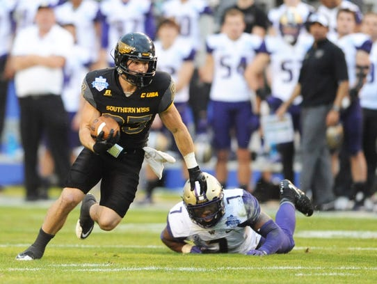 Former Southern Miss receiver Casey Martin, who owns the school's single-season record for receptions, became an NFLPA-certified agent in September 2017.