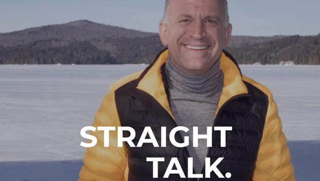 Dylan Ratigan, a former MSNBC host, is shown on his campaign website as he is expected to announce his run for Congress in northern New York on Wednesday, Feb. 21, 2018.