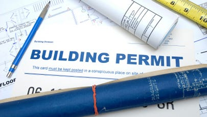 Obtain a permit to build a pool