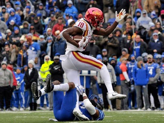 Dec. 30: Iowa State Cyclones wide receiver Hakeem Butler