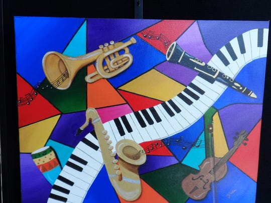 """All That Jazz"" by Mary Jane Close captured the Viewer's Choice Award at the Bank Show."