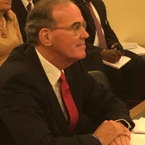 VA inspector general nominee Michael Missal answers questions at a Senate Veterans' Affairs Committee hearing.