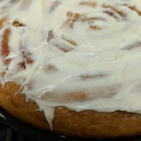 Bigger is better when it comes to cinnamon rolls