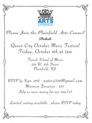 Fundraisers to be held ahead of Plainfield music festival.
