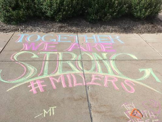 Noblesville West Middle School students return to school